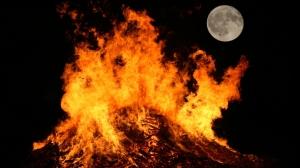 Moon & Fire